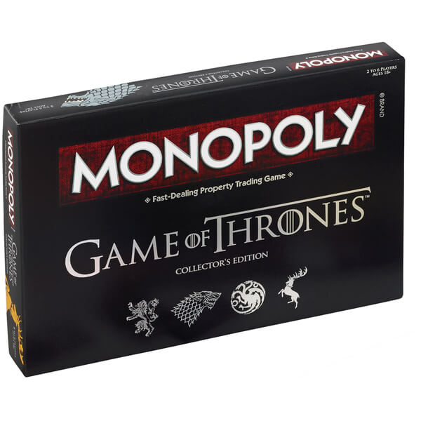 monopoly game of thrones deluxe edition iwoot. Black Bedroom Furniture Sets. Home Design Ideas