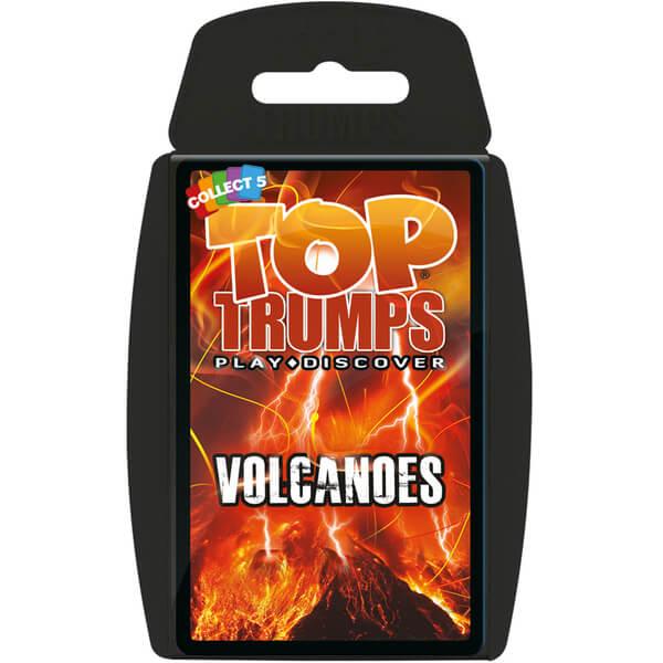 Classic Top Trumps - Volcanoes