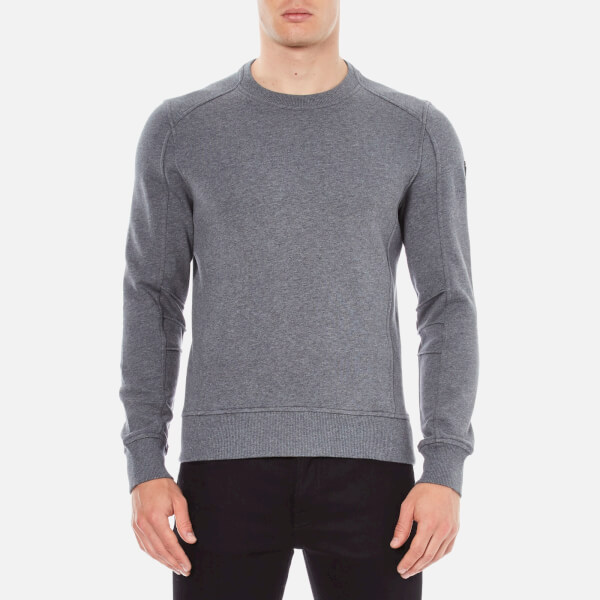 Belstaff Men's New Chanton Sweatshirt - Mid Grey Melange