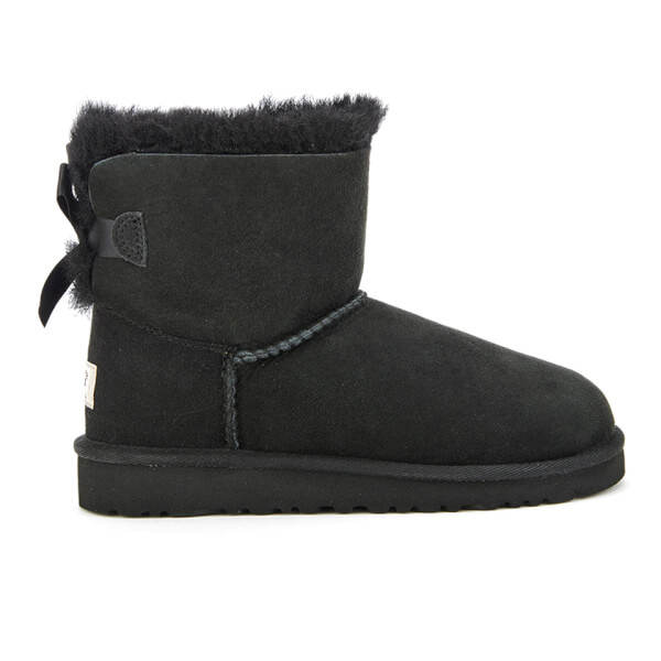 UGG Kids' Mini Bailey Bow Boots - Black