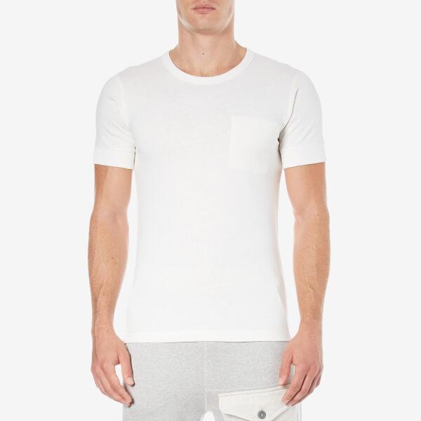 Nigel Cabourn Men's Interlock Jersey T-Shirt - White