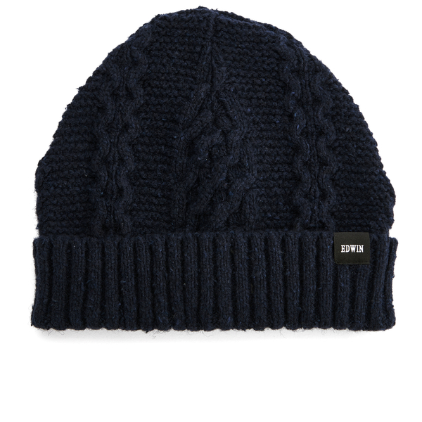 Edwin Men's United Beanie Hat - Navy
