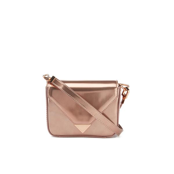 Alexander Wang Women's Prisma Envelope Mini Cross Body Bag - Rose Gold