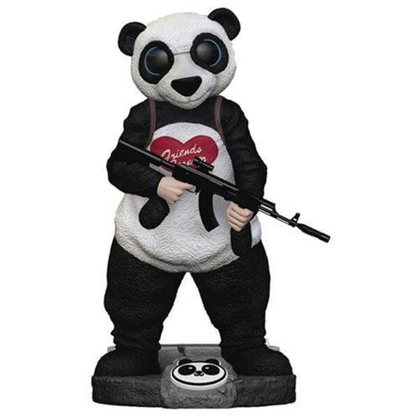 Suicide Squad Panda Finders Keypers Statue