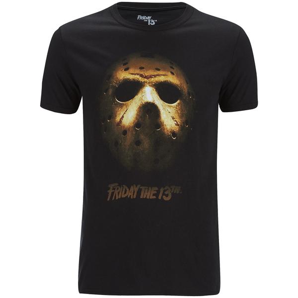 Friday the 13th Men's Mask T-Shirt - Black