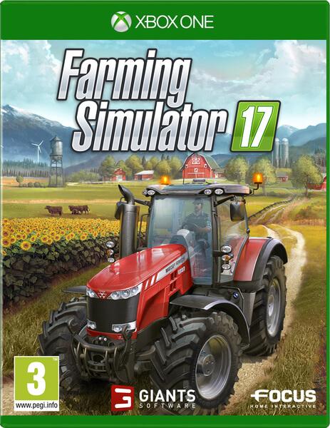 Resultado de imagen de FARMING SIMULATOR 17 XBOX ONE COVER