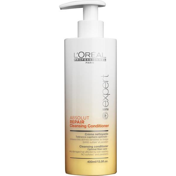 Après-shampooing nettoyant Absolut Repair Lipidium Série Expert L'Oréal Professionnel400 ml