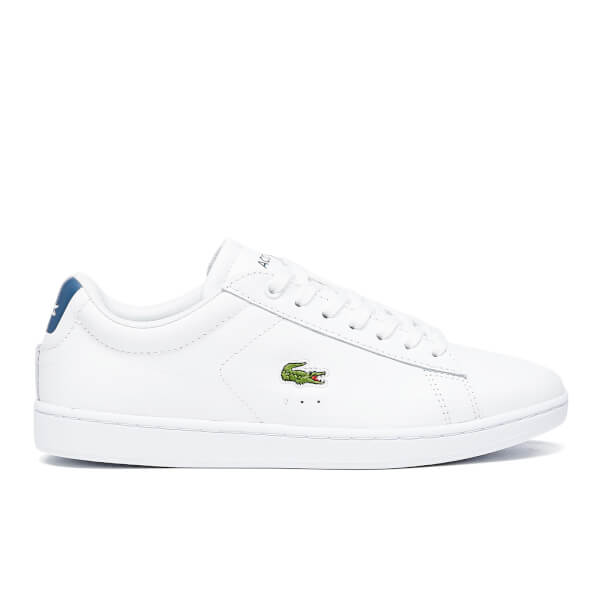 Lacoste Women's Carnaby Evo G316 8 Trainers - White/Blue
