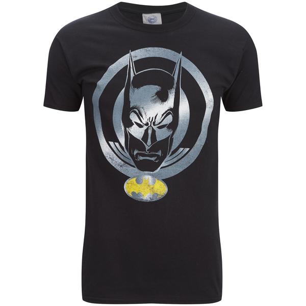 DC Comics Men's Batman Coin T-Shirt - Black