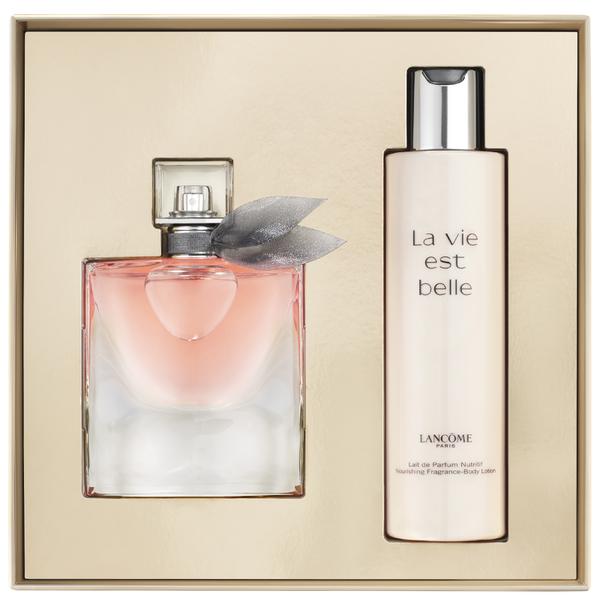 lanc me la vie est belle eau de parfum coffret 50ml. Black Bedroom Furniture Sets. Home Design Ideas