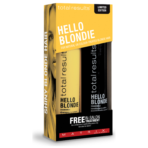 Matrix Total Results Hello Blondie Gift Set