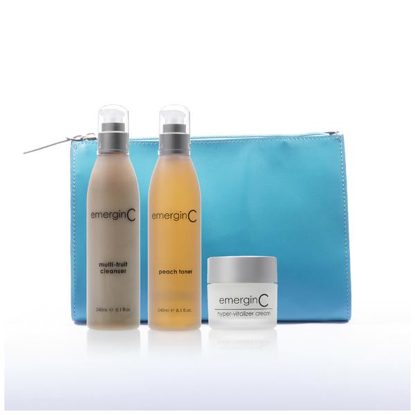 EmerginC Christmas Pack with Hyper-Vitalizer Face Cream