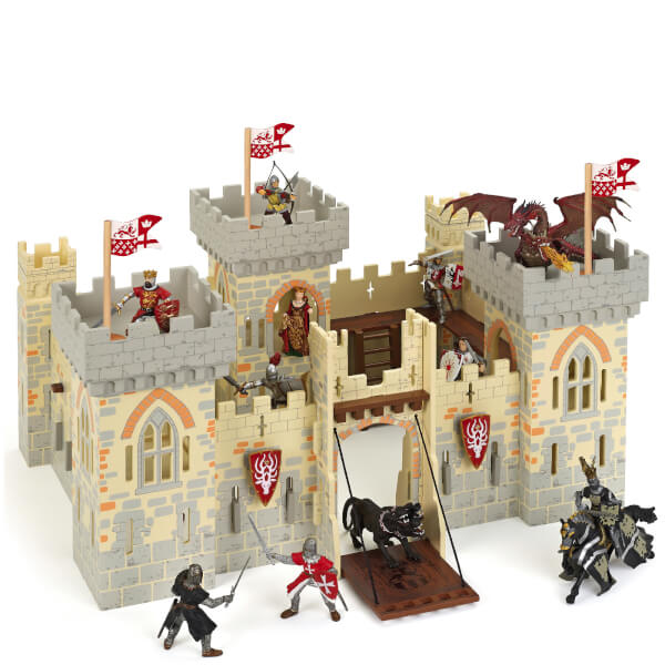 Papo Medieval Era: Weapon Master Castle