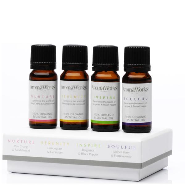 AromaWorks Signature Essential Oil Set 10ml