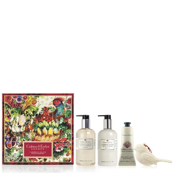 Crabtree & Evelyn Caribbean Island Wild Flowers Body Care Trio (Worth £56.00)