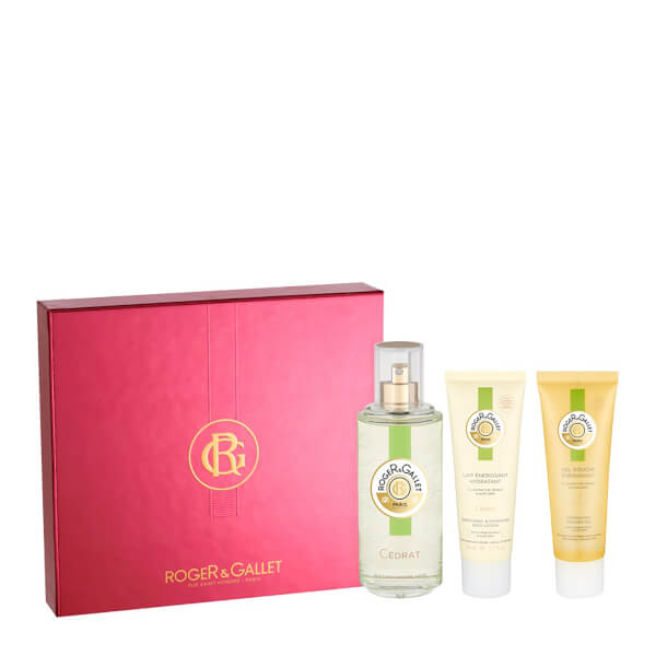 Roger&Gallet Deluxe Cedrat Fragrance Coffret 100ml