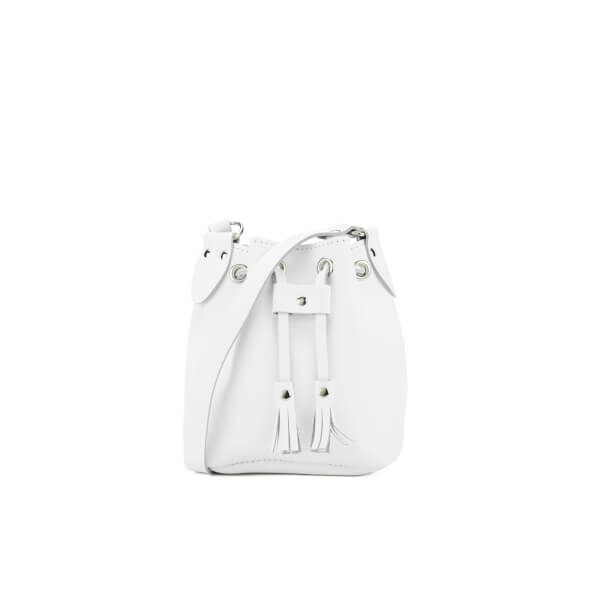 Grafea Women's Mini Bucket Bag - White