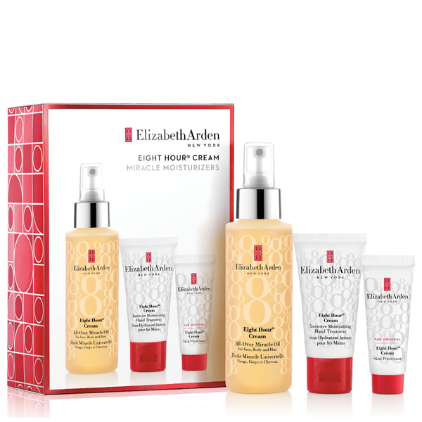 Elizabeth Arden Eight Hour Cream All Over Miracle Oil Set (Worth £47)