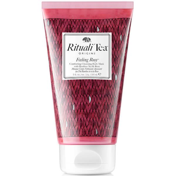 Origins Rituali Tea Feeling Rosy Masque Corps Nettoyant Apaisant au Thé Rooibos et à la Rose (150ml)