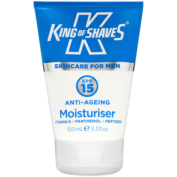 King of Shaves SPF 15 Anti-Ageing Moisturiser 100ml