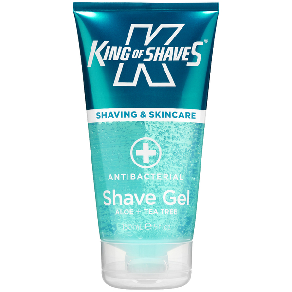 King of Shaves Alpha Shave Gel Antibacterial 150ml