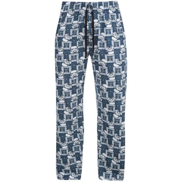Star Wars Men's Stormtrooper Lounge Pants - Blue