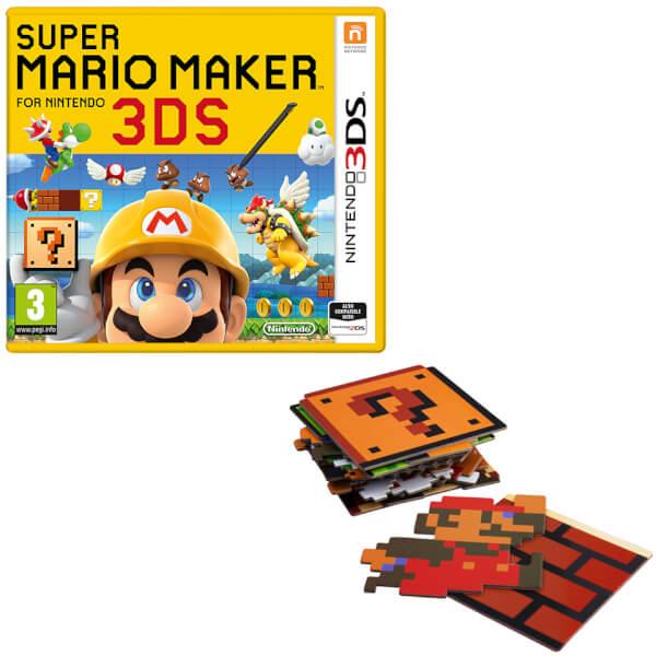 Squishy Duck Super Mario Maker 4 : Super Mario Maker for Nintendo 3DS + Super Mario Bros. Coaster Pack Nintendo UK Store