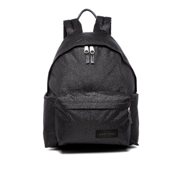 Add some sparkles to your ride with Eastpak black backpack
