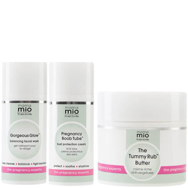 Mama Mio Second Trimester Butter Bundle