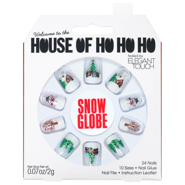 Elegant Touch House of Holland Christmas Nails - Snow Globe
