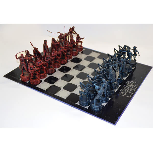 Star Wars Antique Style Chess Set Merchandise
