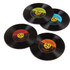 Vinyl Record Coasters: Image 1