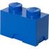 LEGO Aufbewahrungsbox 2 Noppen - Blau: Image 1