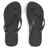 Havaianas Unisex Top Flip Flops - Black: Image 1