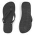 Havaianas Unisex Top Flip Flops - Black: Image 6