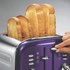 Morphy Richards 4 Slice Accents Toaster - Plum: Image 3