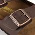 Birkenstock Men's Arizona Double Strap Sandals - Dark Brown: Image 4