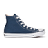 Converse Chuck Taylor All Star Canvas Hi-Top Trainers - Navy: Image 1