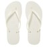 Havaianas Women's Slim Flips Flops - White: Image 1