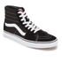 Vans Sk8-Hi Canvas Hi-Top Trainers - Black/White : Image 4