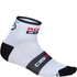 Castelli Rosso Corsa 6 Cycling Socks - White: Image 1