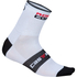Castelli Rosso Corsa 9 Cycling Socks - White: Image 1