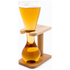 Quarter Yard Glass with Wooden Stand and Gift Box: Image 1