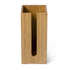Wireworks Arena Bamboo Toilet Roll Box: Image 1