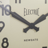Newgate Giant Electric Wall Clock - Black: Image 3