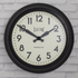 Newgate Giant Electric Wall Clock - Black: Image 2
