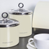 Morphy Richards Accents Small Storage Canister - Cream: Image 3