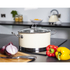 Morphy Richards 46372 Accents Casserole Dish - Cream - 24cm: Image 2