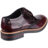 Base London Men's Woburn Brogue Shoes - Red: Image 2