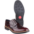 Base London Men's Woburn Brogue Shoes - Red: Image 3